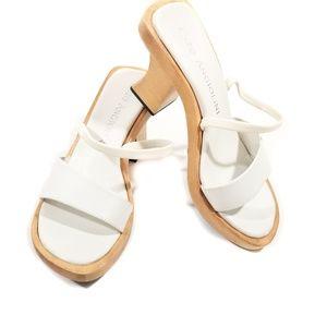 Enzo Angiolini Block Heel Sandals